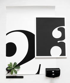 Via Blackbird Style | Black and White | Numbers 2 and 3
