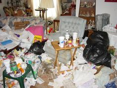 messy home | The Sheppard Spy: T.G.I.Friday