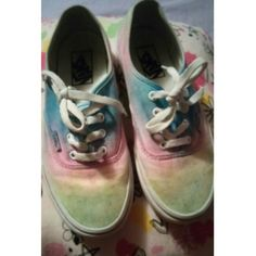 Beautiful Tie Dye Vans Reposh. These were too small for me. ~*Bundle 2 or more items and get 20% off :) Vans Shoes Sneakers