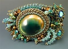 Laura McCabe - Operculum Cuff Bracelet - RESTOCKED!!