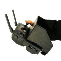 Cubierta de la tapa del transmisor Controlador Control remoto Monitor Parasol para DJI Mavic Pro Repuestos