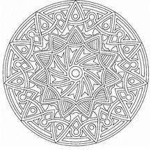 mandala 169 - coloring page - mandala coloring pages - mandalas ... - Coloring Pages Mandalas Printable