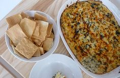 Baked Artichoke Spinach Dip