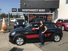 BRENNA, we appreciate your business!  Wishing you many miles of smiles from all of us here at Northwest MINI and Terry Soumis.