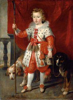 Portrait Of A Boy, traditionally called François de Boisschot, Comte d'Erps-Cornelis de Vos (1584 – 1651, Dutch)