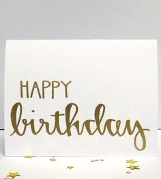 Happy Birthday Card Set by Modern Memo on Scoutmob Shoppe