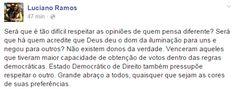 RN POLITICA EM DIA: LIÇÃO DE DEMOCRACIA, POR LUCIANO RAMOS.