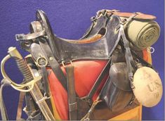 Pattern 1859 McClellan saddle with field equipment | Rob's ...