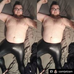 Cami is a BEAST in his Shiny Black Metallic tights!  #IAmATightsGuy  #Repost @camijetzam  Thank you Jeffrey Scott for these AMAZING Tights these will definitely bring out my scandalous side!!! #jeffreyscott1