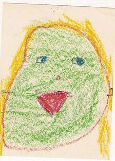Self portrait age 5.