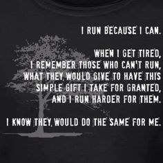 One more reason to run