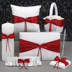 Red and White set