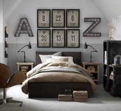 awesome mens bed. beautiful ideas. Home Design Ideas