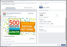 """Randall Collier-Digital Entrepreneur Source For The Middle Aged Joe-Did you see? Facebook now allows you to promote your Page's cover photo and its call-to-action as a News Feed ad. The ad features a screen grab of your cover photo, your CTA, and an option for people to like your Page. To start, click your existing call-to-action and choose """"Promote"""" from the drop-down menu."""