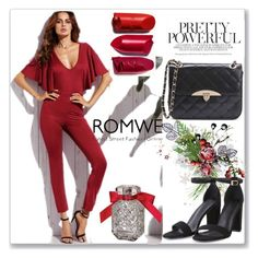 """""""Romwe 1"""" by almamehmedovic-79 ❤ liked on Polyvore featuring Victoria's Secret"""