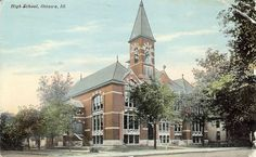 Ottawa High School, Ottawa, Illinois   (another view)