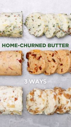 Breakfast For Dinner Recipes Butter Ideas Flavored Butter, Homemade Butter, Butter Recipe, Butter Churner, Herb Butter, Truffle Butter, Yummy Food, Tasty, Breakfast For Dinner