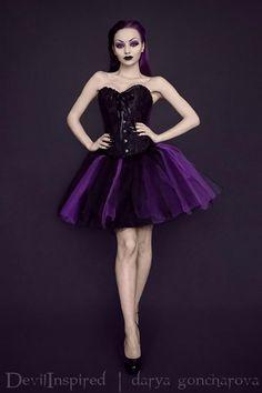 Model: Darya Goncharova Clothes: Devilinspired Welcome to Gothic and Amazing |www.gothicandamazing.org