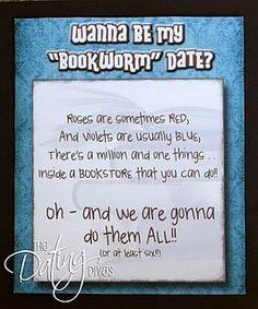 Bookstore Date. So cute. and def a dream come true
