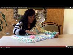 Crochet Woven Bedspread | CrochetBeja