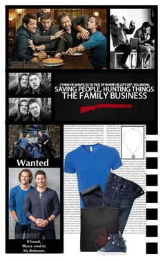 """""""SUPERNATURAL (tv series)"""" by irresistible-livingdeadgirl ❤ liked on Polyvore featuring jared, Simplex Apparel, 7 For All Mankind, Building Block, BUSCEMI, men's fashion, menswear, StreetStyle, supernatural and buscemi"""