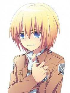 Attack on titan, Arlem. my favorite character. He is so cute and adorable