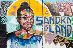 "Sandra Bland memorial defaced with ""All Lives Matter"" graffiti ..."