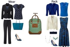 business travel capsule wardrobe - ideal choice for frequent travellers