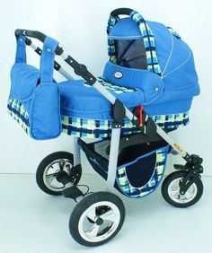 Baby pram and pushchair+carseat (Travel System) So cute for a boy!