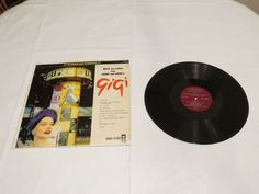 GIGI music songs lerner Loewe's Coronet CXS-68 LP Album RARE Record vinyl