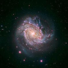 Un equipo de astrofísicos coordinado desde Australia ha analizado las emisiones energéticas de un agujero negro que crece en la galaxia M83....