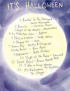 Friday Playlist: It's Halloween - Rookie Spooky Music, Halloween Music, Halloween 2020, Halloween Diy, Halloween Movies, Halloween Decorations, Fall Playlist, Halloween Playlist, Song Playlist