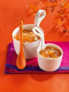 Chili-scharfes Chutney aus Quitten und Birnen