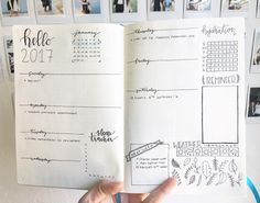 "586 Likes, 21 Comments - paulina (@simple.studies) on Instagram: ""Finished my first weekly spread! Hope everyone has/ had a safe and memorable New Years! I'm…"""