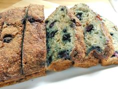 Cinnamon sugar topped blueberry banana loaf – Drizzle Me Skinny!