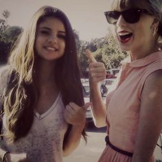Taylor Swift and Selena Gonez