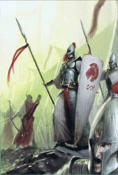 Fantasy Battle, Fantasy Armor, High Fantasy, Medieval Fantasy, Fantasy World, Tolkien, Age Of Sigmar, Elf Art, Armadura Medieval