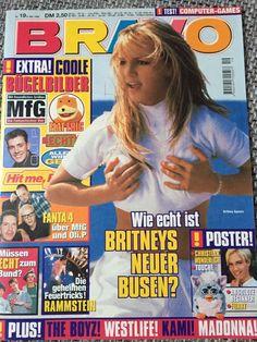Britney Spears Magazin Bravo Nr. 19 1999 Sammlung Poster