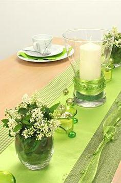 Tischdeko Grün tischdeko grün und weiß gleich die tischdekoration mit unserer 360