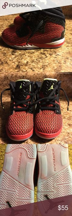 I have a brand new pair of Jordan's I have apair of red& Black jordans brand new Jordan Shoes Sneakers