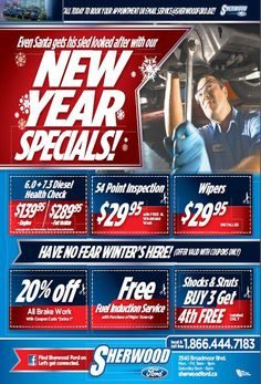 Check Out Sherwood Ford Service Specials   and Save more on your next sercive
