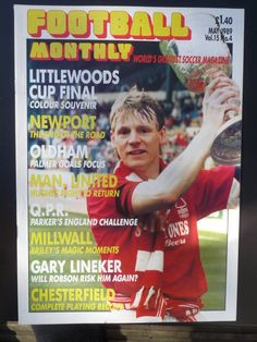Nottingham Forest Fc, Millwall, Vintage Football, Magazine Articles, May, Magazines, Soccer, The Unit, Baseball Cards