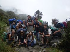 Group backpacking in Peru - How to get your TEFL certificate to get a job teaching English as a second language in Peru