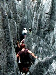 Trekking Madagascar - Tsingy