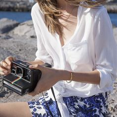capture every moment in a breezy white top.