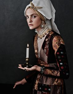 "Modern Victorian ◆ ""Caroline's Symphony"" from Vogue Japan, featuring Caroline Trentini, photographed by Giampaolo Sgura, styled by Anna Dello Russo"