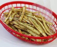 shoestring parsnip fries