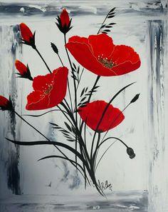 Peinture acrylique sur toile 45x55  By Raffin Christine  Facebook : L'étoile de Chris