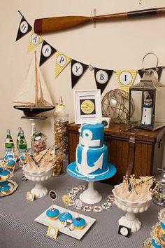 nautical party decoration