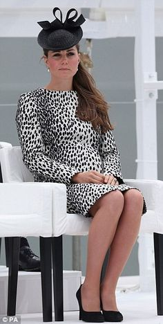 Kate Middleton .... with child.  She is so beautiful, and elegant, even pregnant.  :)
